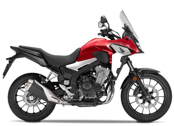 CB500X 2019 สีแดง