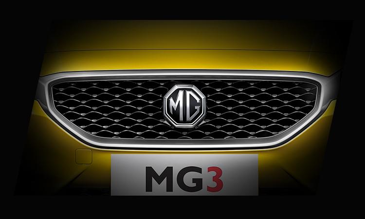 กระจังหน้า MG3