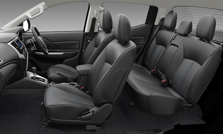 ดีไซน์ภายใน Mitsubishi Triton Double Cab