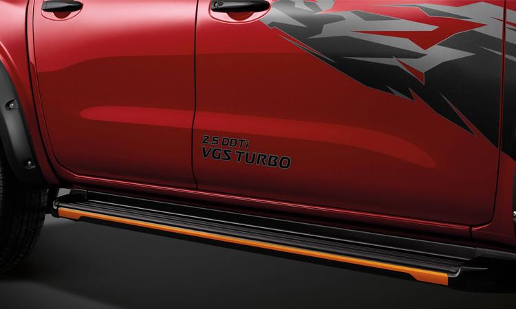 บันได Nissan navara Black Edition