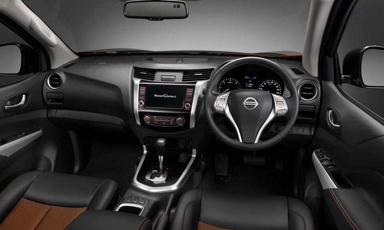 ภายใน Nissan navara Black Edition