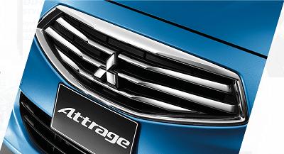 Mitsubishi Attrage exterior