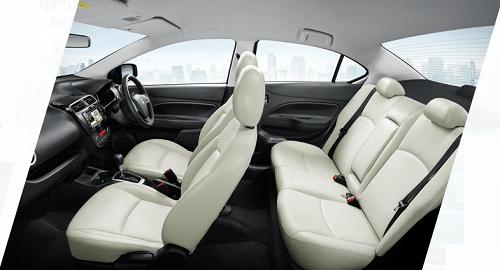 Mitsubishi Attrage interior