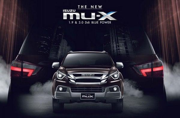 NEW ISUZU MU-X 1.9 & 3.0 Ddi