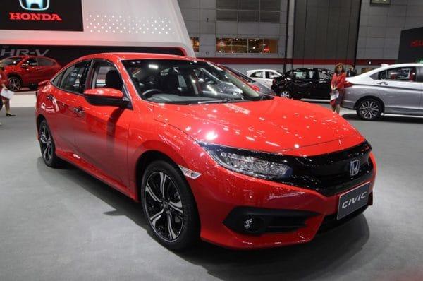 All New Honda Civic 2019-2020 ข้อมูล ตารางราคาสด-ผ่อน-ดาวน์