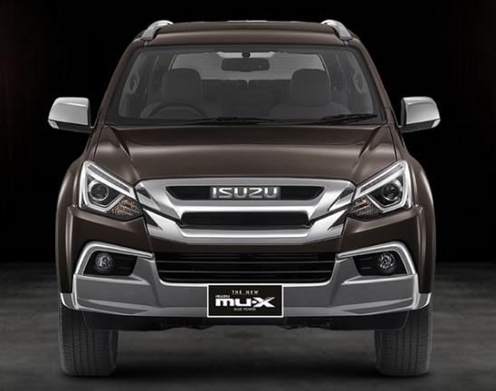 THE NEW ISUZU MU-X