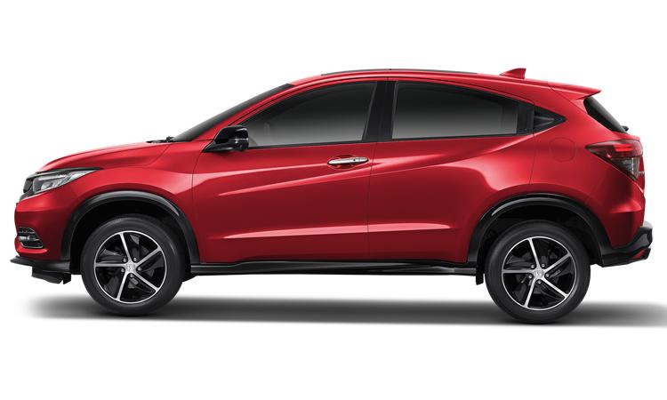 Honda HRV สีแดงแพสชั่น (มุก)