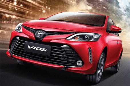 ราคา ตารางผ่อนดาวน์ Toyota Vios 2020-2021