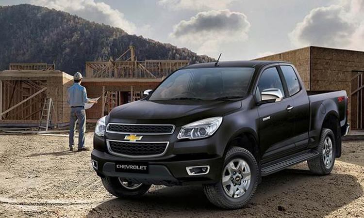 Chevrolet Colorado-2019-สี-2-ประตู