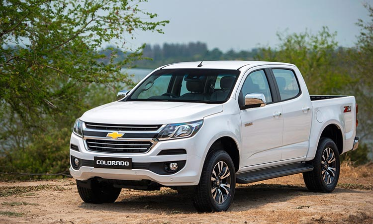 Chevrolet Colorado 4 สีขาว