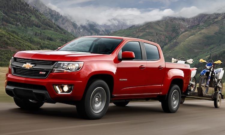 Chevrolet Colorado 4 สีแดง
