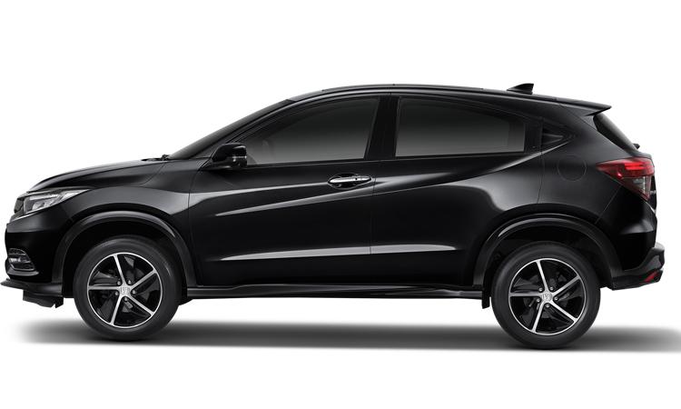 Honda HRV สีดำคริสตัล (มุก)