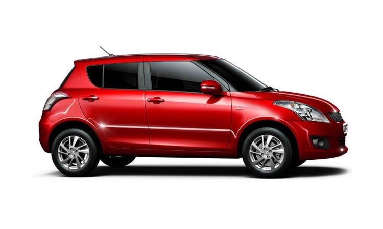 Suzuki Celerio สีแดง