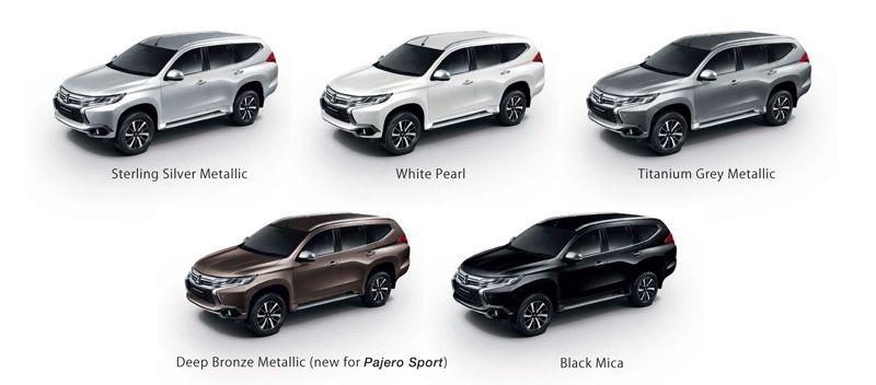 All New Mitsubishi Pajero Sport ราคา มิตซูบิชิ ปาเจโร่ สปอร์ต ตารางราคา-ผ่อน-ดาวน์ 2