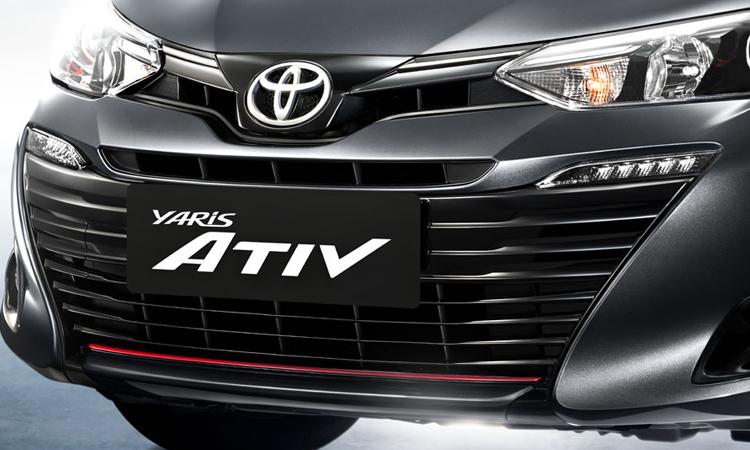 กระจังหน้า Toyota Yaris ATIV