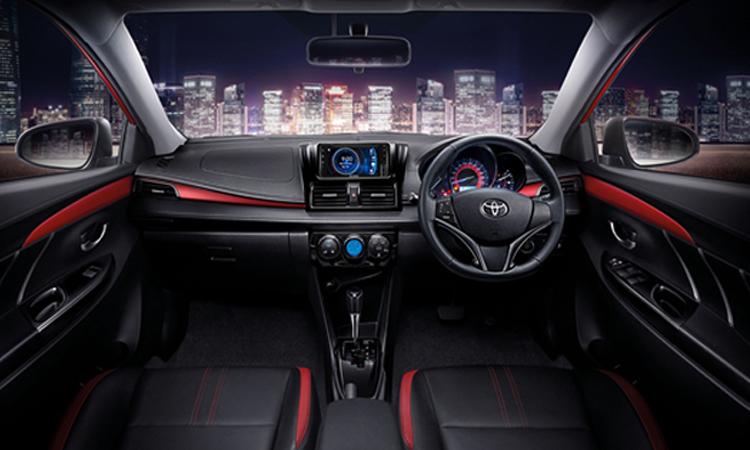 ภายใน Toyota Vios