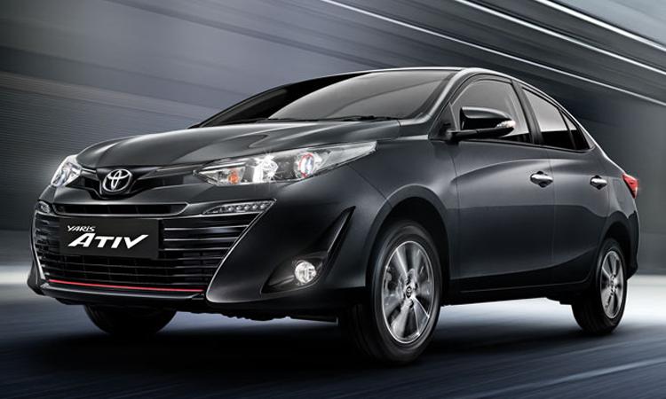 ราคา ตารางผ่อนดาวน์ Toyota Yaris ATIV ปี 2020-2021