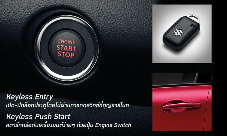 ระบบความปลอดภัย Suzuki Swift 2019