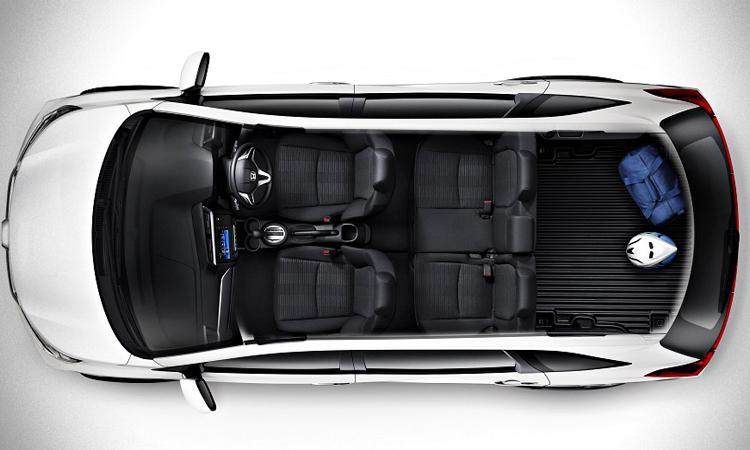 Honda BR-V 2019 ภายใน 5 ที่นั่ง