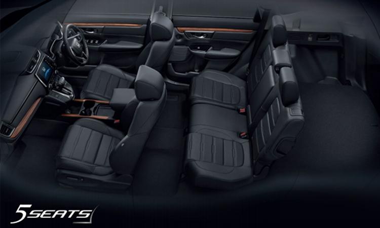HONDA CR-V ภายในแบบ5ที่นั่ง