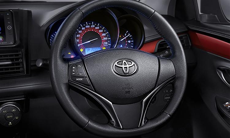 พวงมาลัย Toyota Vios