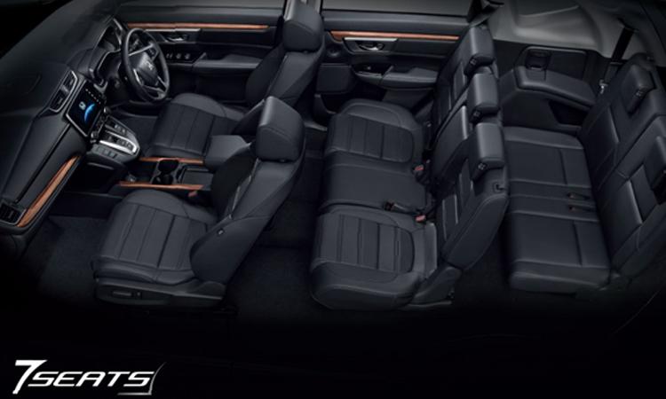 HONDA CR-V ภายในแบบ7ที่นั่ง