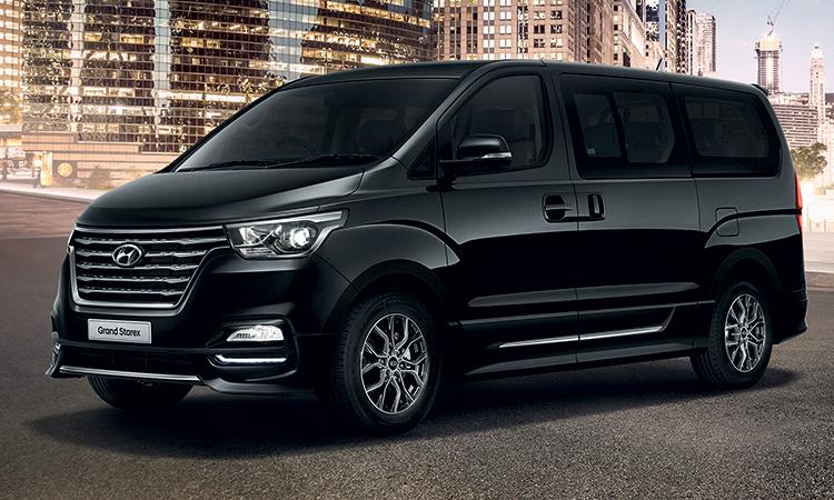 ราคา ตารางผ่อนดาวน์ Hyundai Grand Starex ปี 2020