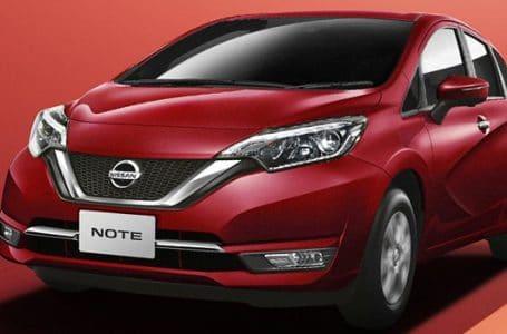 ราคา ตารางผ่อนดาวน์ Nissan Note 2020-2021