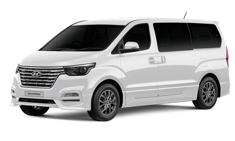 Hyundai Grand Starexสี Arcic White