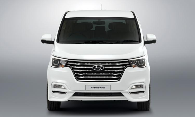 ดีไซน์ด้านหน้า Hyundai Grand Starex