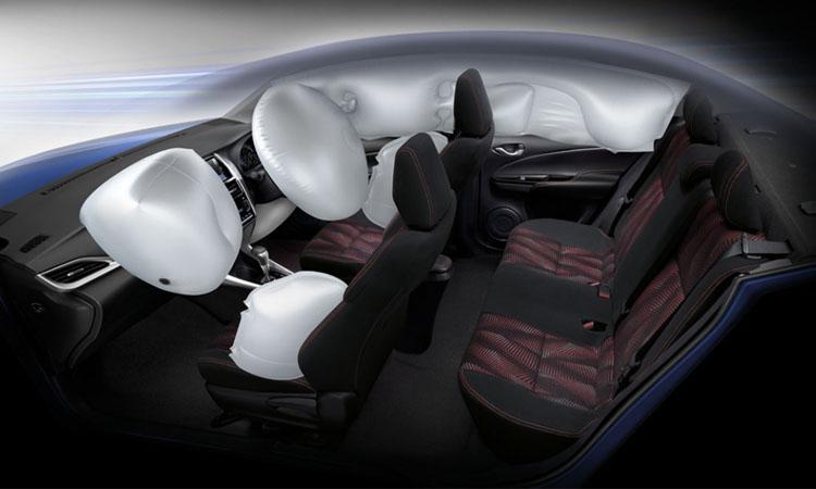 ระบบความปลอดภัย Toyota Yaris ATIV