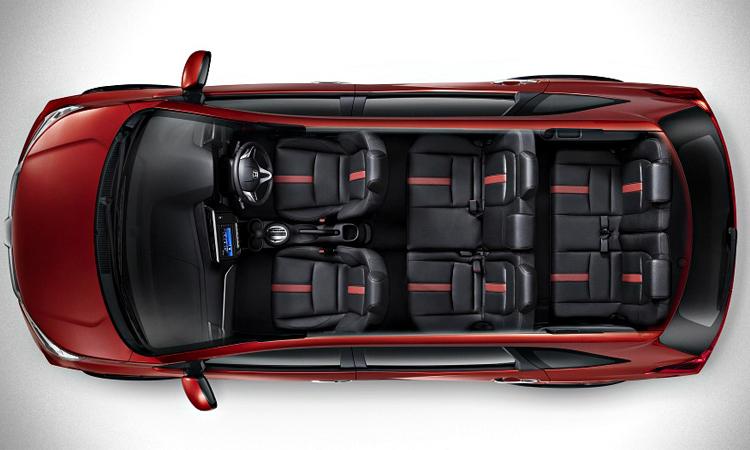 ภายใน Honda BR-V 2019 7 ที่นั่ง