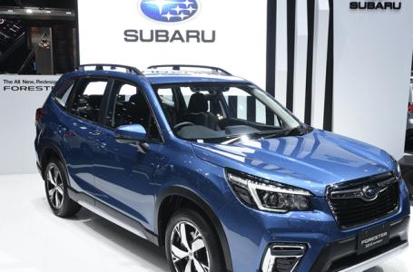 The All New Subaru Forester 2019 เปิดตัว รถคันแรกจากสายการผลิตในประเทศไทย พร้อมเทคโนโลยี EyeSight