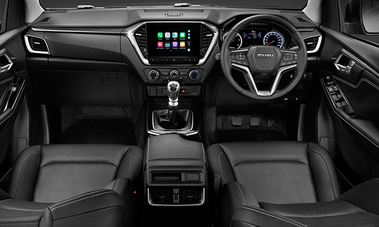 ภายใน ISUZU D-MAX CAB 4 (ตัวเตี้ย) รุ่น 1.9 Z 6MT (ESC)
