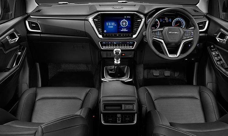 ภายใน ISUZU D-MAX CAB 4 Hi-Lander (ตัวสูง) รุ่น 1.9 Z-Prestige 6MT