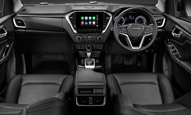 ภายใน ISUZU D-MAX CAB 4 Hi-Lander (ตัวสูง) รุ่น 1.9 Z 6AT