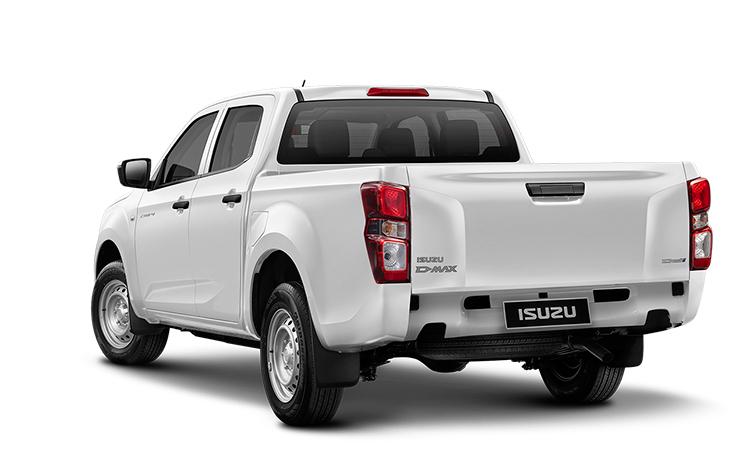 ดีไซน์ด้านหลัง ISUZU D-MAX CAB 4 รุ่น 1.9 S 6MT