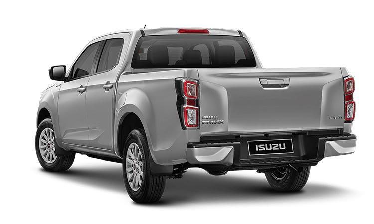 ดีไซน์ด้านหลัง ISUZU D-MAX CAB 4 รุ่น 1.9 L 6MT