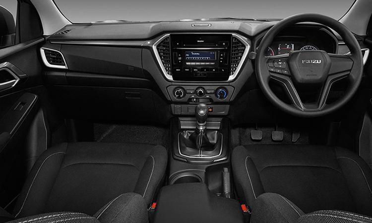 ภายใน ISUZU D-MAX CAB 4 รุ่น 1.9 L 6MT
