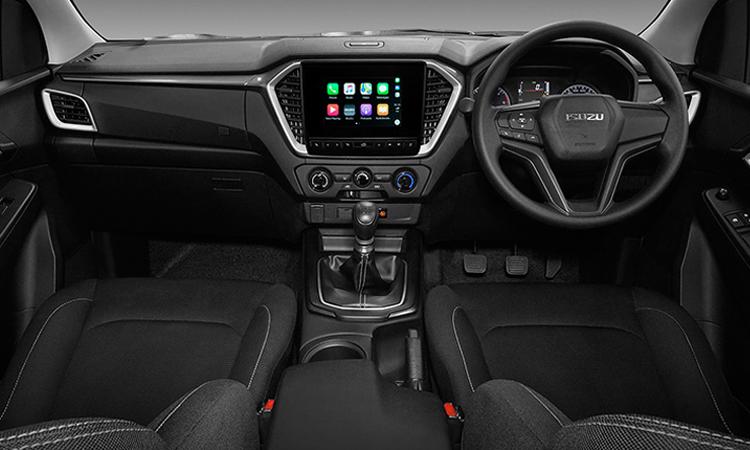 ภายใน ISUZU D-MAX CAB 4 รุ่น 1.9 L DA 6MT