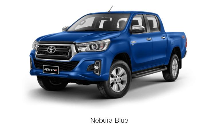 TOYOTA HILUX REVO DOUBLE CAB สี Nebura Blue