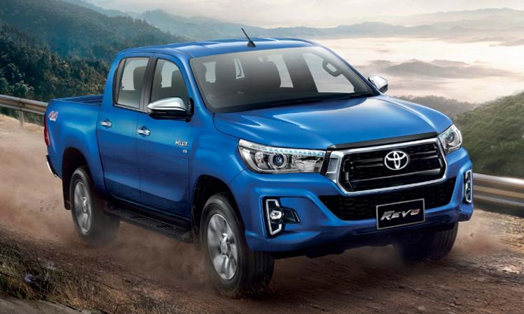ราคา ตารางผ่อนดาวน์ Toyota Hilux Revo Double Cab 2020 - 2021