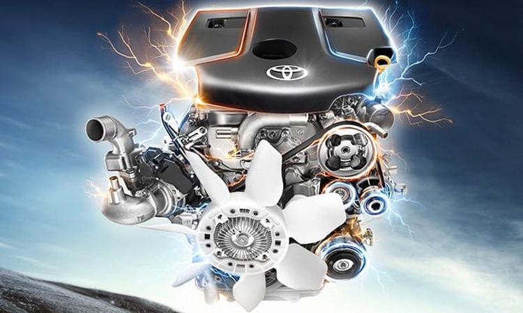 เครื่องยนต์ Toyota Hilux Revo Smart Cab