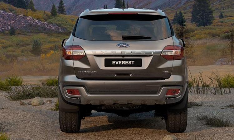 ดีไซน์ท้าย Ford Everest