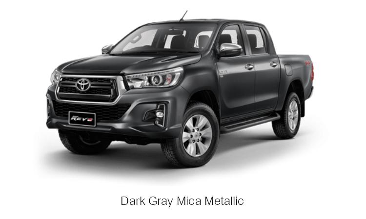 TOYOTA HILUX REVO DOUBLE CAB สี Dark Gray Mica Metallic