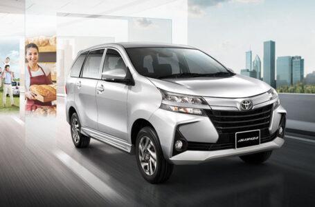 ราคา ตารางผ่อนดาวน์ Toyota Avanza ปี 2020-2021