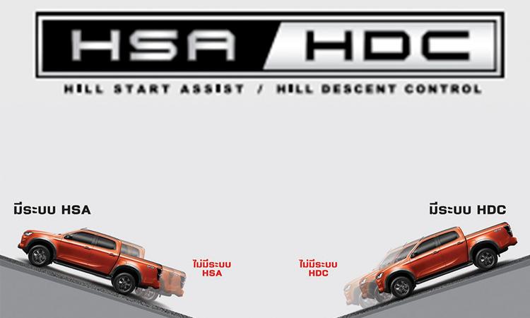 ระบบความปลอดภัย D-MAX SPACECAB Hi-lander