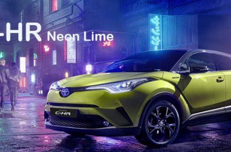 พาชม Toyota C-HR Neon Lime รุ่นพิเศษเด่นที่สีสุดยอดที่เครื่องเสียง JBL