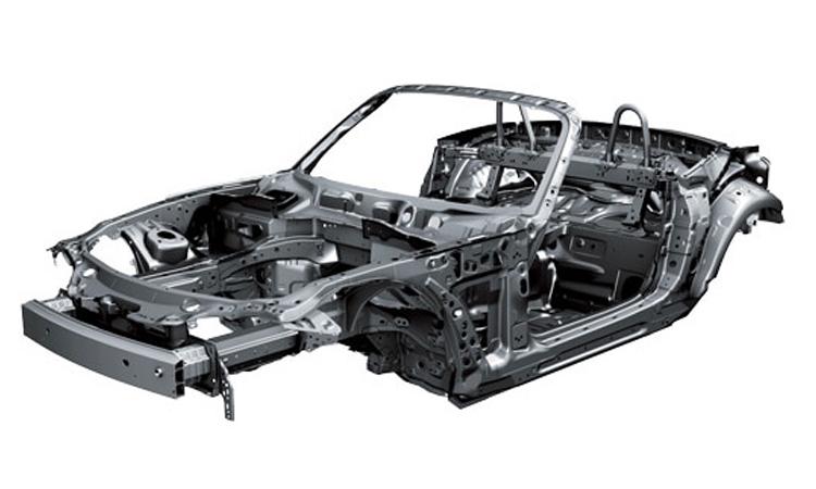 โครงสร้างตัวรถ Mazda Mx-5
