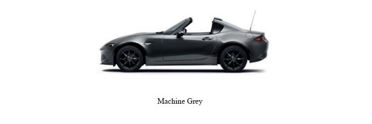 Mazda MX-5 สีเทา Machine Grey